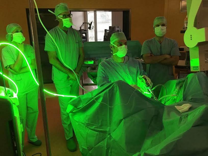 operazione prostata laser verde