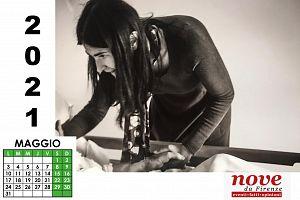 calendario 2021 di Nove da Firenze