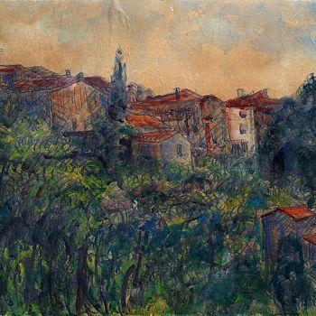 /images/8/2/82-umberto-vittorini---paesaggio-toscano-con-casolare--cireglio----1961---50x70.jpg