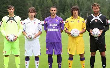 abbigliamento Fiorentina prima